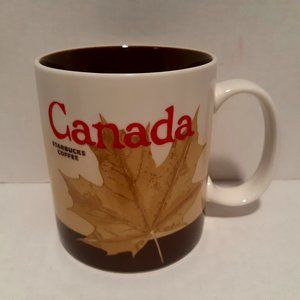 Starbucks 2010 Global Icon Mug - Canada